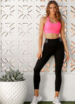 Speed Stripe Core Ankle Biter Leggings, Black, hi-res