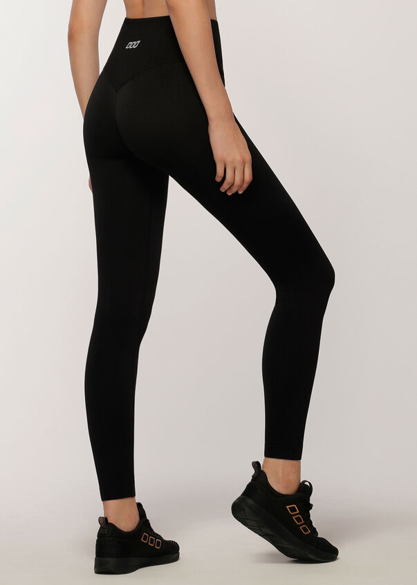Everyday Seamless Full Length Leggings, Black, hi-res