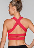 Glamour Girl Sports Bra, Cupid Red, hi-res
