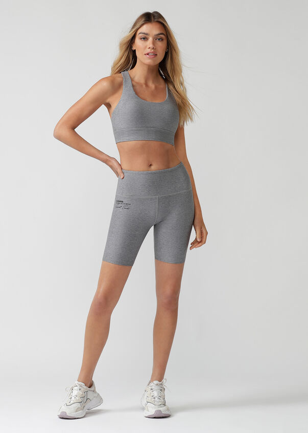 Uplift Bike Short, Concrete Grey Marl, hi-res