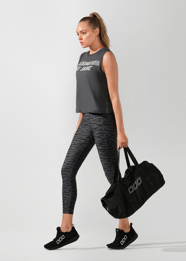 Lightweight Gym Bag, Black, hi-res