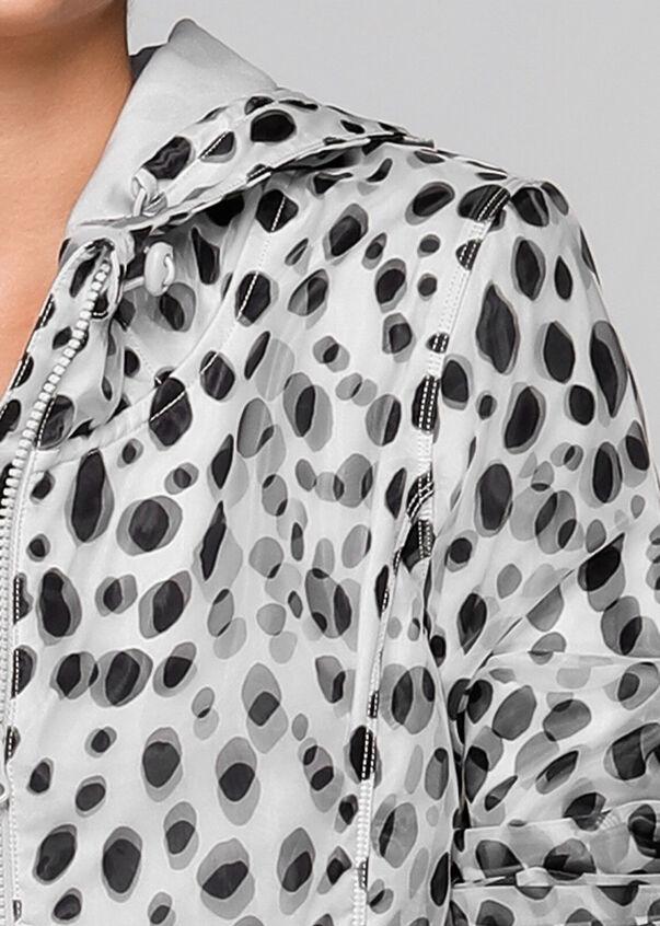 Leo Zip Through Jacket, Leo Print, hi-res