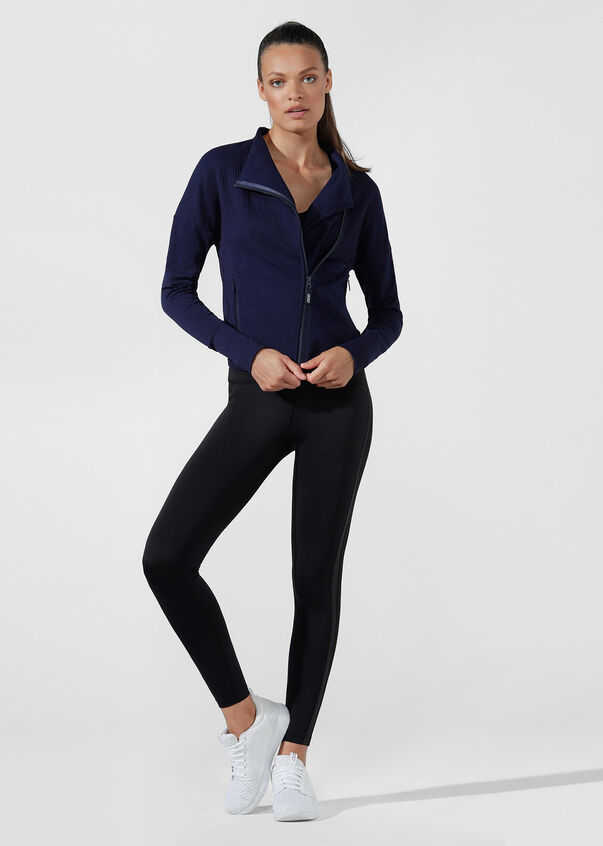 Comfort Seamless Jacket, French Navy, hi-res
