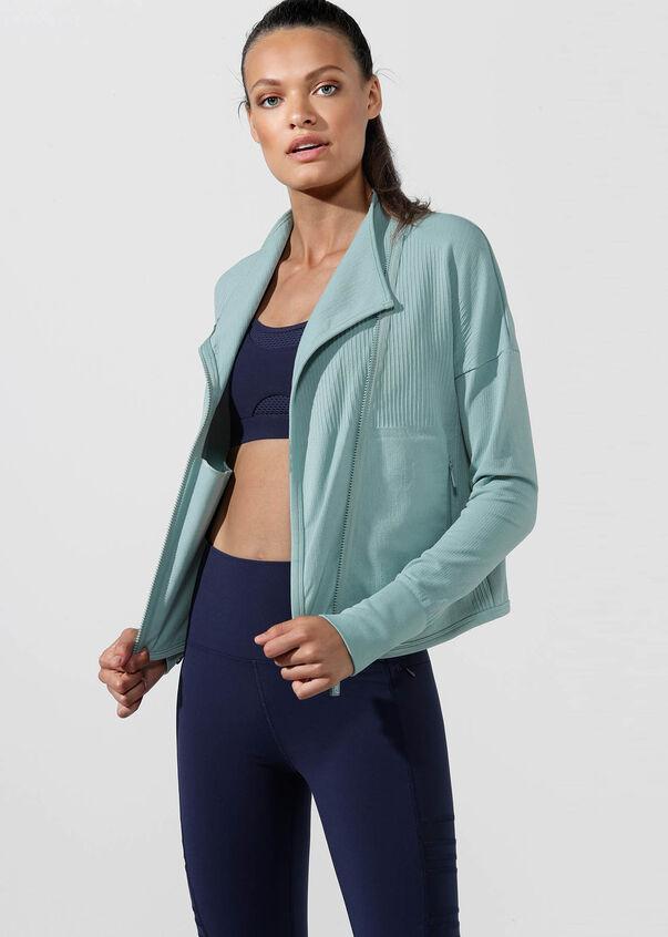 Comfort Seamless Jacket, Succulent, hi-res