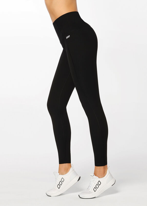 Winter Thermal Core Full Length Tight, Black, hi-res
