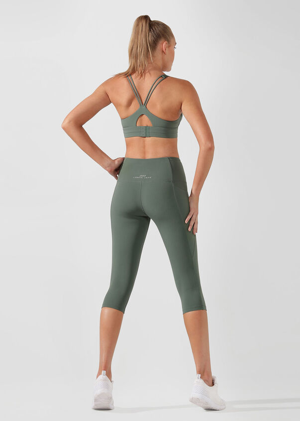 Rebound Sports Bra, Military, hi-res