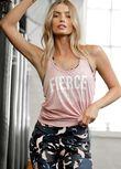 Fierce Slouchy Gym Tank, Cherry Blossom, hi-res