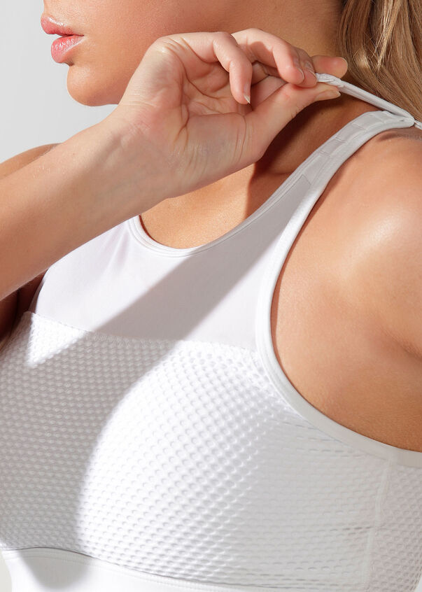 Intensity Sports Bra, White, hi-res