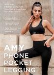 Amy Phone Pocket Leggings, Black, hi-res