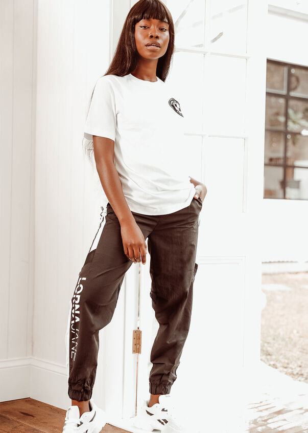 Swagger Oversized Tee, White, hi-res