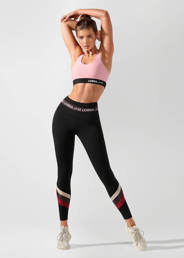 Cardio Sports Bra, Dusty Rose, hi-res