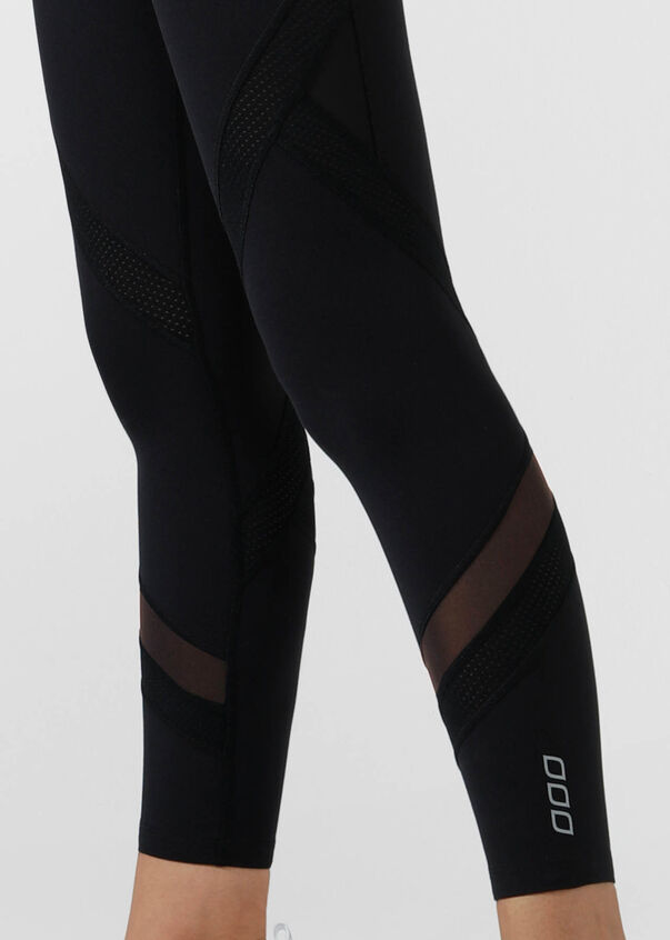 Edge Core Ankle Biter Tight, Black, hi-res