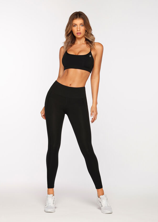 Booty Support Full Length Tight, Black, hi-res