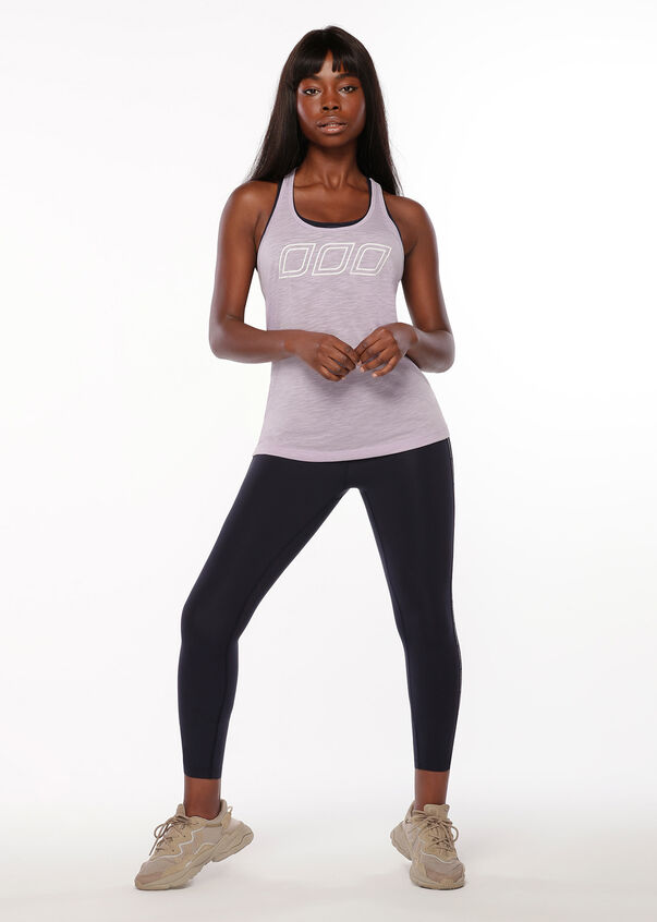 Iconic Slouchy Gym Tank, Dusty Lilac, hi-res