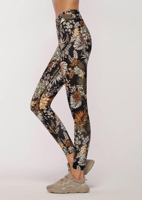 Retro Tropicana Full Length Leggings, Retro Tropicana Print, hi-res