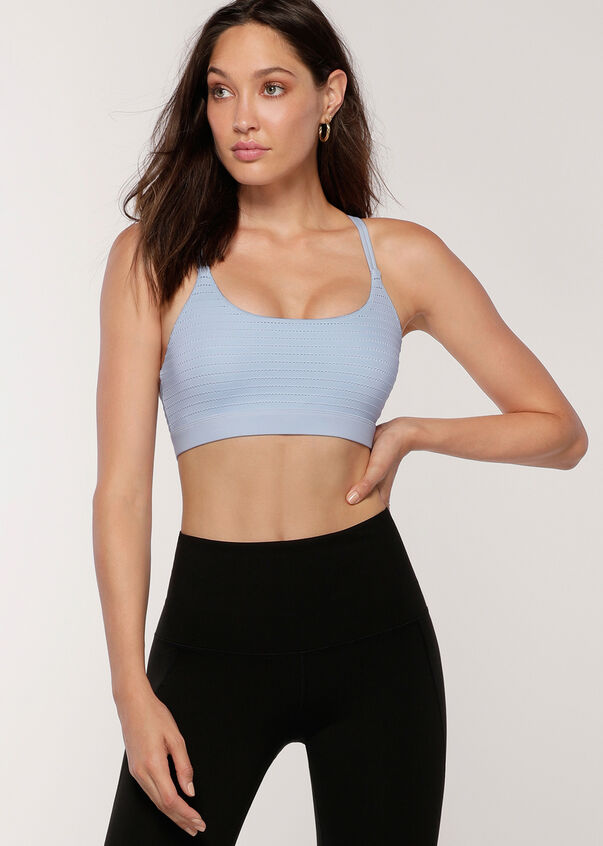 Starlet Sports Bra, Toulouse Blue, hi-res