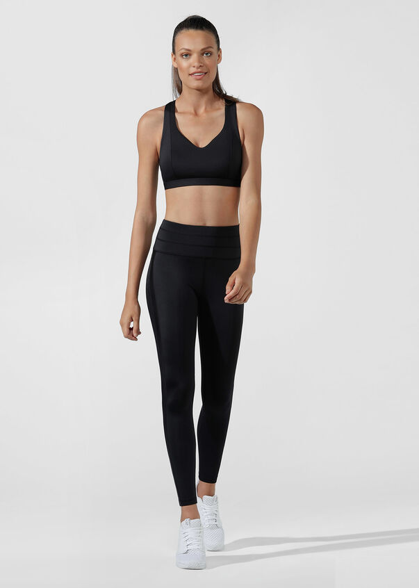 Cross Comfort Sports Bra, Black, hi-res