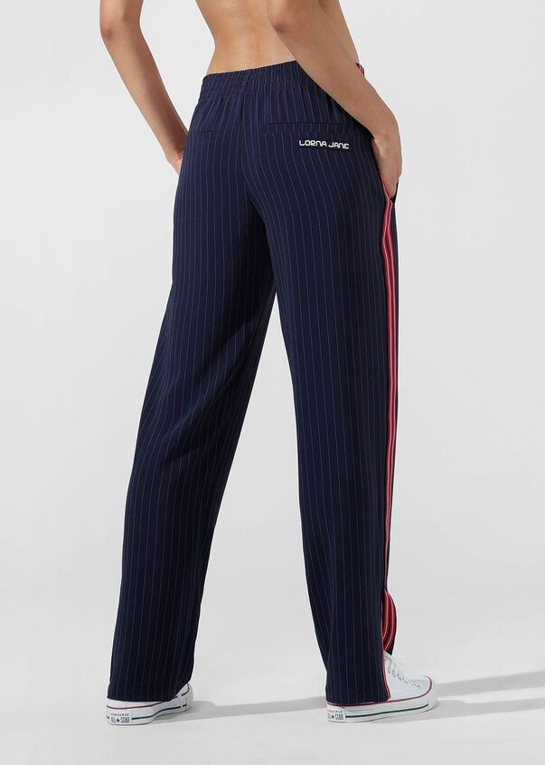 It Girl Pant, French Navy/White, hi-res