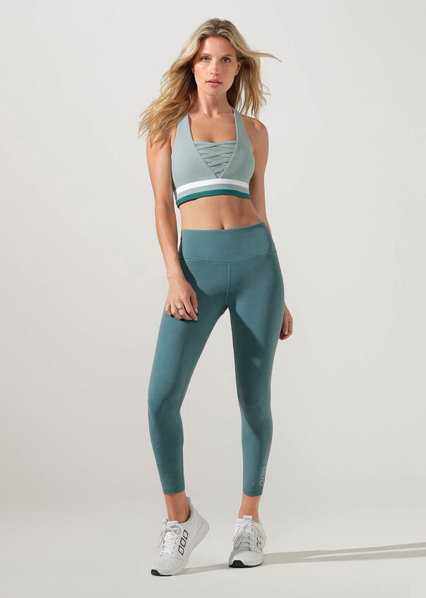 Stand Out Sports Bra, Succulent, hi-res