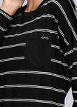Everyday Tech L/Slv Top, Black/White Stripe, hi-res