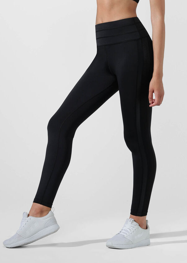 Alexa Core Full Length Tight, Black, hi-res