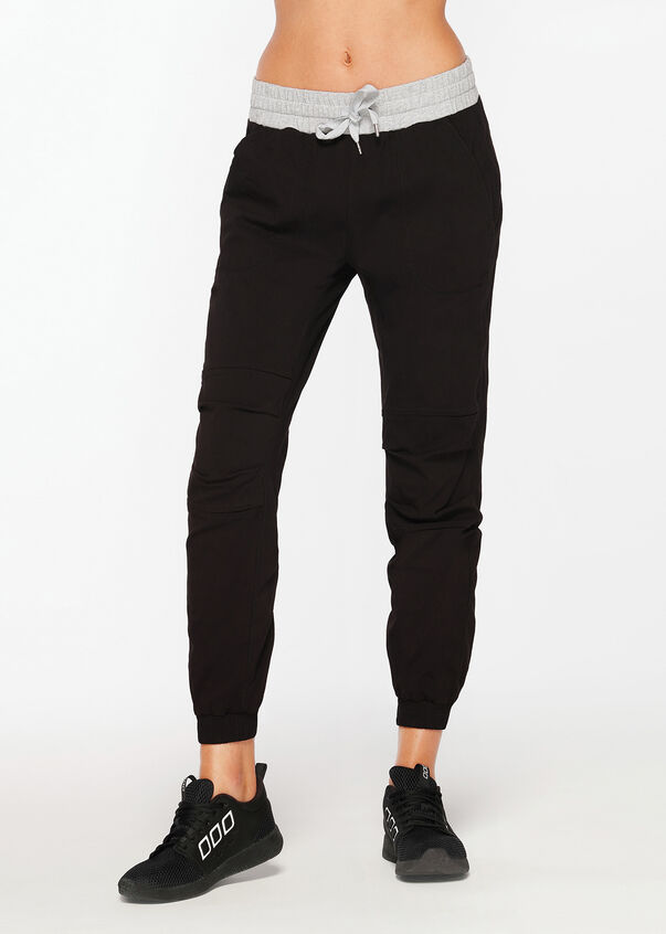 Winter Flashy Full Length Pant, Black, hi-res