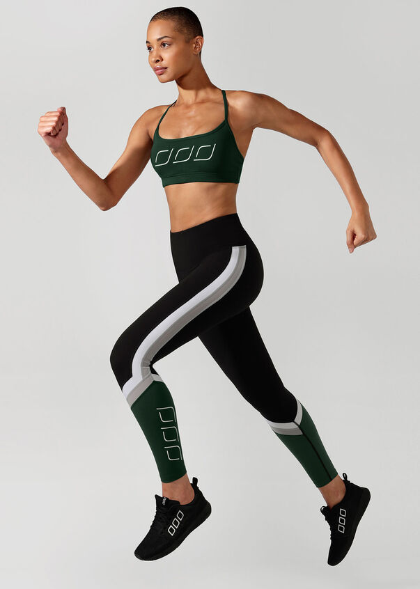 Sammy Sports Bra, Fig Green, hi-res