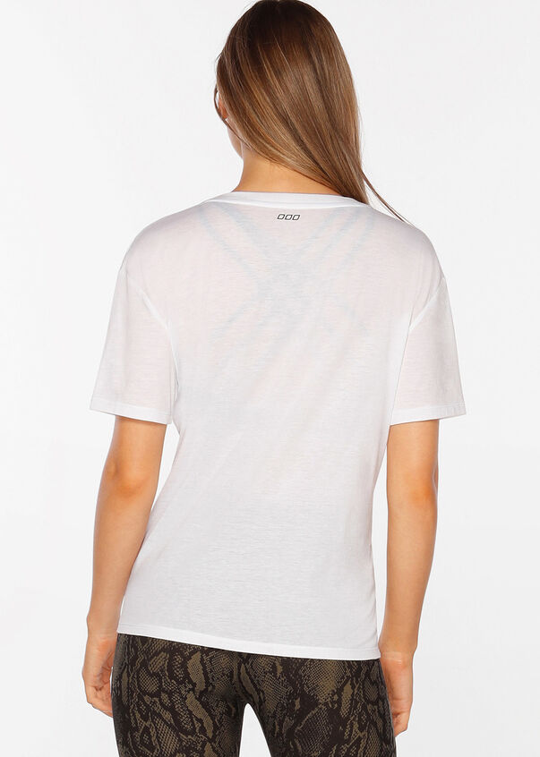 All Day Comfort Tee, White, hi-res