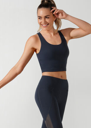 Britney Cropped Active Tank